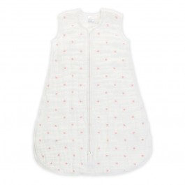aden+anais-mid season sleeping bag  - lovebird - rose water dot (12-18 months)