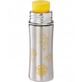 Edelstahl Trinkflasche von Affenzahn - Tiger - gelb