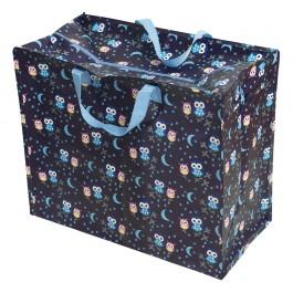 REX London XXL Tasche Eulen aus Recycling Material