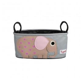 3 sprouts Kinderwagentasche - Elefant