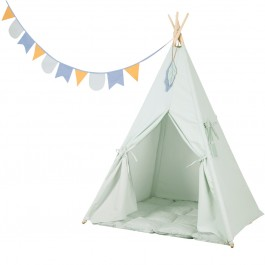 Little Dutch-Tipi Zelt - mint