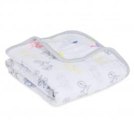 Aden+Anais Buggy Blanket, Decke für Babies und Kleinkinder, leader of the pack