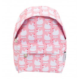 A little lovely Company - Rucksack Schwan in rosa