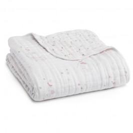 Aden+Anais Classic Dream Blanket, Decke für Babies und Kleinkinder, birdsong