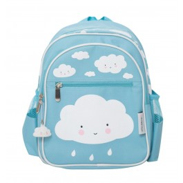 A little lovely Company - Rucksack WOLKE in hellblau