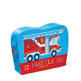 Crocodile Creek-Fire Truck 12pcs Puzzle