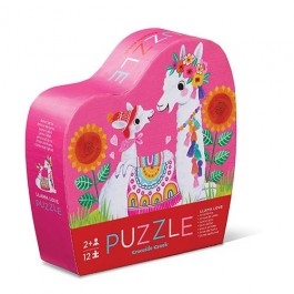 12 pc Mini Puzzle/Llama Love