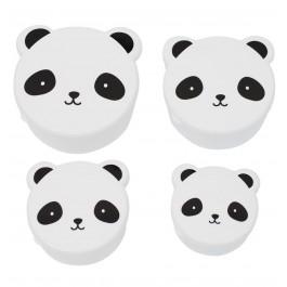 A little lovely Company - Snack Box Panda Bär