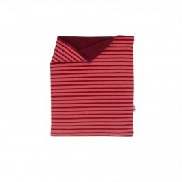 Finkid Tuubi Plus - Jersey Schalkragen mit Kuschelfleece rose/cabernet OS