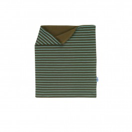 Finkid Tuubi Plus - Jersey Schalkragen mit Kuschelfleece beech/trellis OS