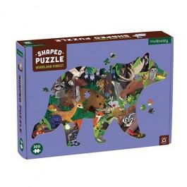 300 PC Shaped Puzzle/ Woodland