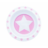 Schale  aus Melamin STARS - rosa