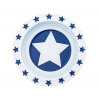 Schale  aus Melamin STARS - marine