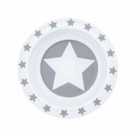 Schale  aus Melamin STARS - grau