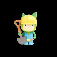Kreativ- Tonie Bauarbeiter