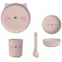 LIEWOOD Geschirr-Set Katze