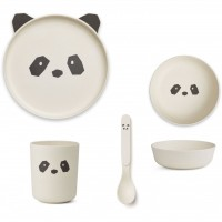 LIEWOOD Geschirr-Set Panda