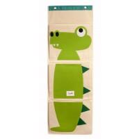 3 sprouts Wandaufbewahrung, Krokodil