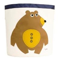 3 sprouts - Aufbewahrungskorb Bär