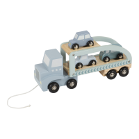 Little Dutch - Autotransporter blau