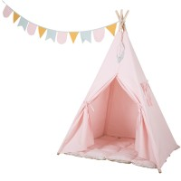 Little Dutch-Tipi Zelt - pink