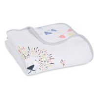 Aden+Anais Classic Dream Blanket, Decke für Babies und Kleinkinder, leader of the pack