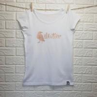 SCHLAWIENERIN - T - Shirt - RABENMUTTER - weiß