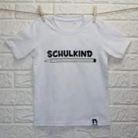 SCHLAWIENERIN - T - Shirt - SCHULKIND in schwarz mit Bleistift