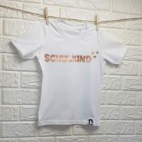 SCHLAWIENERIN - T - Shirt - SCHULKIND in rosegold