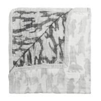 White Label by Aden+Anais Silky Soft Dream Blanket, Decke für Babies und Kleinkinder, foragers bear