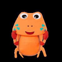 Kleiner Freund Rucksack – Krabbe