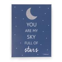 "Ölbild ""You are my sky full of stars"""