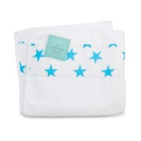 aden+anais Classic Toddler Towel, Kinderhandtuch, fluro blue