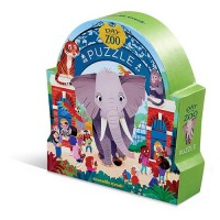 Puzzle Ein Tag im Zoo - 48 Teile