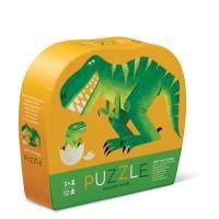12 pc Mini Puzzle - Dino