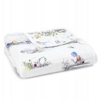 Aden+Anais Dream Blanket, Kuscheldecke für Babys und Kleinkinder, WINNIE POOH