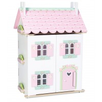 Puppenhaus - Sweetheart Häuschen (mit Möbeln)