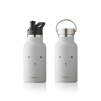 Anker Wasserflasche - rabbit dumbo grey