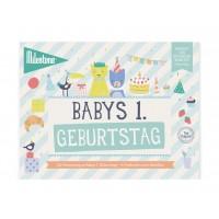 """Booklet """"Babys 1. Geburtstag"""" von Milestone"""