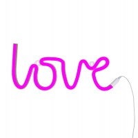 "A little lovely Company - Wandlampe Neonlicht "" LOVE """