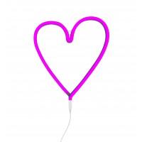Wandlampe NEONLICHT in Herzform