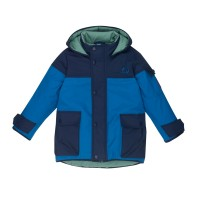 Finkid Pikku Tuppi - Kinder Winterjacke navy/seaport