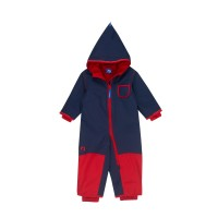 Finkid Pikku Winter - Zwergen Winteroverall navy/red