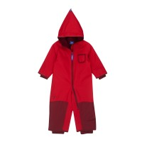 Finkid Pikku Winter - Zwergen Winteroverall persian red/grenadine