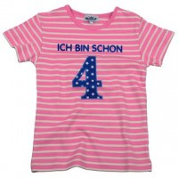 P. Eisenherz-Ich bin schon 4 rosa/weiß Gr. 5 Jahre