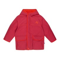 Finkid Talvi - Kinder Wetterparka winterfest  persian red/grenadine