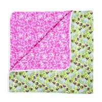 White Label by Aden+Anais Silky Soft Dream Blanket, Decke für Babies und Kleinkinder, paradise cove