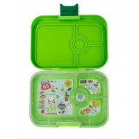 Yumbox Avocado Green – panino – 4er Route 66