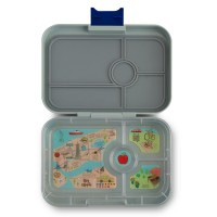 Yumbox Flat Iron Gray - 4er New York City