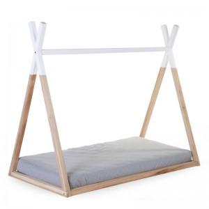 Kinderbett TIPI Buche/weiß 70x140 von Childhome
